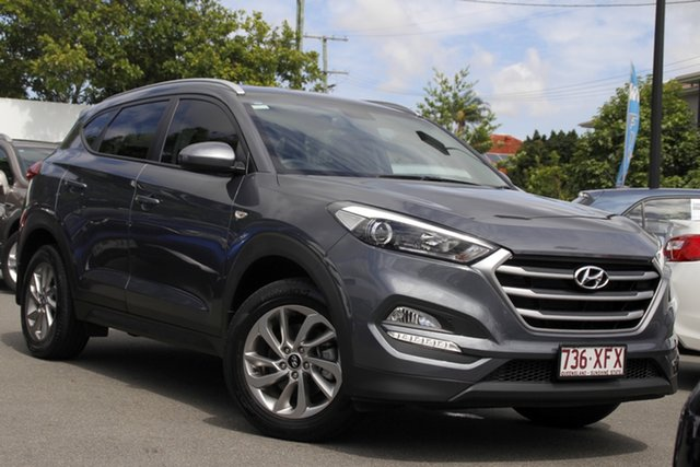 Used Hyundai Tucson TLe MY17 Active 2WD Mount Gravatt, 2017 Hyundai Tucson TLe MY17 Active 2WD Grey 6 Speed Sports Automatic Wagon