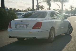 2007 Toyota Crown UZS186 Majesta White 6 Speed Automatic Sedan.