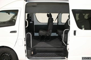 2015 Toyota HiAce KDH223R MY14 Commuter White 5 Speed Manual Bus