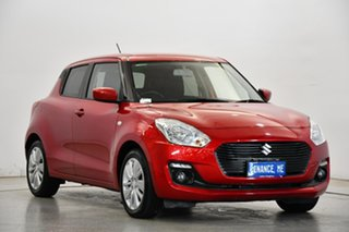 2019 Suzuki Swift AZ GL Navigator Red 1 Speed Constant Variable Hatchback