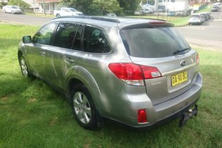 2010 Subaru Outback B5A MY10 2.0D AWD Premium Silver 6 Speed Manual Wagon