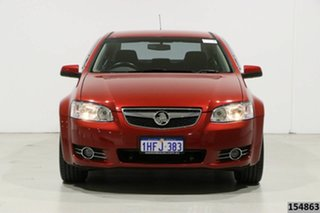 2012 Holden Berlina VE II MY12 Red 6 Speed Automatic Sedan.