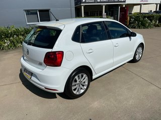 2017 Volkswagen Polo 6R MY17 81TSI DSG Comfortline White/060417 7 Speed Sports Automatic Dual Clutch.