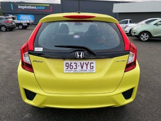 2015 Honda Jazz GF MY15 VTi Yellow 5 Speed Manual Hatchback
