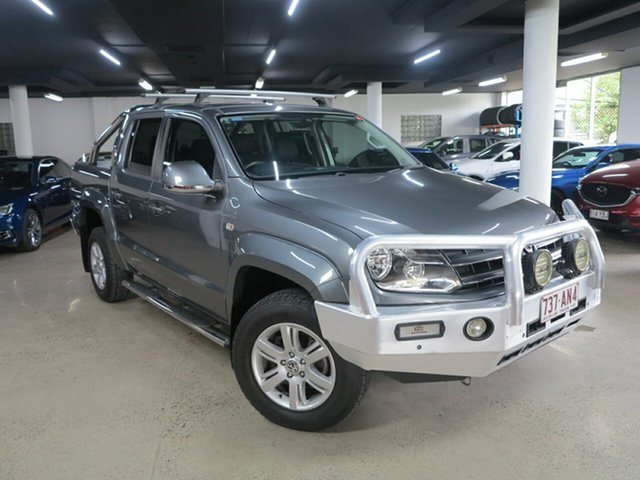 Used Volkswagen Amarok 2H MY14 TDI400 4Mot Highline Albion, 2014 Volkswagen Amarok 2H MY14 TDI400 4Mot Highline Grey 6 Speed Manual Utility