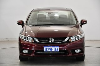 2015 Honda Civic 9th Gen Ser II MY15 Sport Red 5 Speed Sports Automatic Sedan.