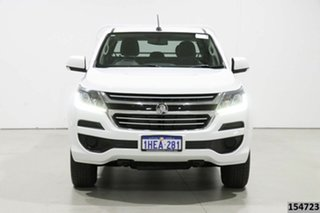 2016 Holden Colorado RG MY17 LS (4x4) White 6 Speed Automatic Crew Cab Chassis.