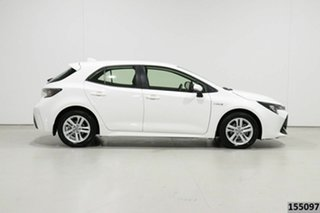 2019 Toyota Corolla ZWE211R Ascent Sport Hybrid White Continuous Variable Hatchback