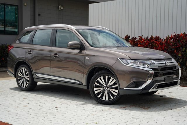 Used Mitsubishi Outlander ZL MY19 ES AWD Cairns, 2019 Mitsubishi Outlander ZL MY19 ES AWD Ironbark 6 Speed Constant Variable Wagon