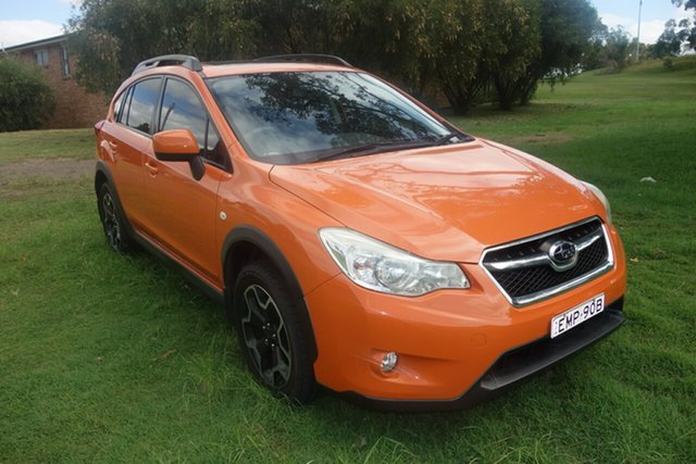 Used Subaru XV G4X MY12 2.0i-L Lineartronic AWD East Maitland, 2012 Subaru XV G4X MY12 2.0i-L Lineartronic AWD Orange 6 Speed Constant Variable Wagon