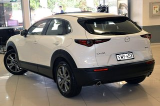 2020 Mazda CX-30 DM2WLA G25 SKYACTIV-Drive Astina White 6 Speed Sports Automatic Wagon.