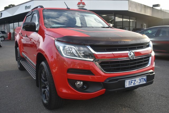 Used Holden Colorado RG MY18 Z71 Pickup Crew Cab Wantirna South, 2017 Holden Colorado RG MY18 Z71 Pickup Crew Cab Red/Black 6 Speed Sports Automatic Utility