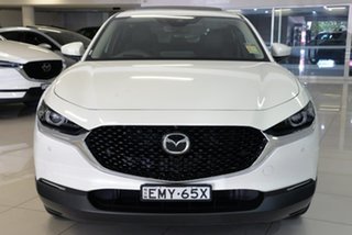2020 Mazda CX-30 DM2WLA G25 SKYACTIV-Drive Astina White 6 Speed Sports Automatic Wagon