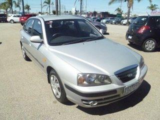 2005 Hyundai Elantra XD MY05 FX Silver 4 Speed Automatic Hatchback.
