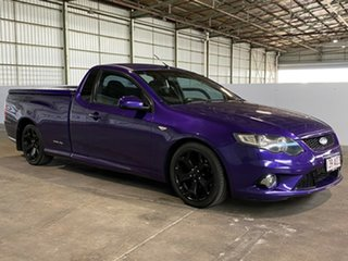 2009 Ford Falcon FG XR6 Ute Super Cab Turbo Purple 6 Speed Sports Automatic Utility.