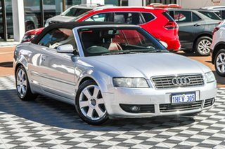 2003 Audi A4 B6 Multitronic Silver 1 Speed Constant Variable Cabriolet.