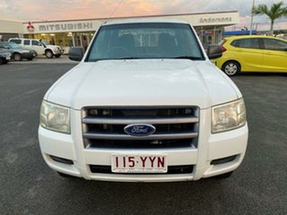 2007 Ford Ranger PJ XL Crew Cab White 5 Speed Automatic Utility