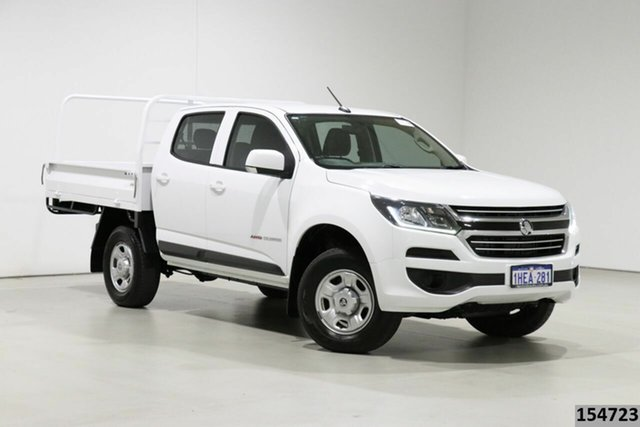 Used Holden Colorado RG MY17 LS (4x4) Bentley, 2016 Holden Colorado RG MY17 LS (4x4) White 6 Speed Automatic Crew Cab Chassis