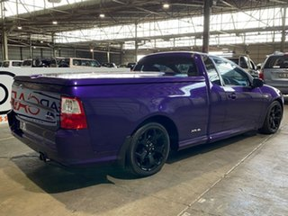 2009 Ford Falcon FG XR6 Ute Super Cab Turbo Purple 6 Speed Sports Automatic Utility