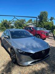 2021 Mazda 3 G20 Evolve  Silver 6 Speed Automatic Hatchback.