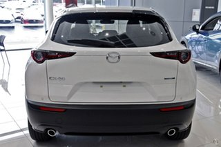 2021 Mazda CX-30 DM2W7A G20 SKYACTIV-Drive Evolve White 6 Speed Sports Automatic Wagon.
