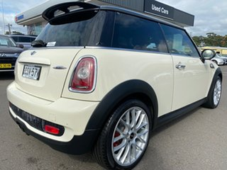 2010 Mini Hatch R56 Cooper S Chilli Beige 6 Speed Manual Hatchback.