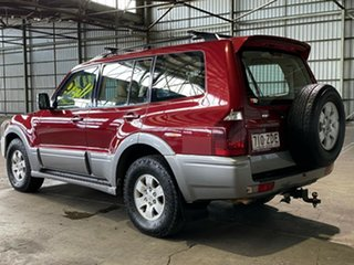 2004 Mitsubishi Pajero NP MY05 Exceed Red 5 Speed Sports Automatic Wagon
