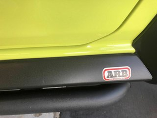 2019 Suzuki Jimny JB74 Yellow 4 Speed Automatic Hardtop