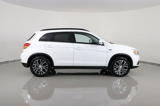 2019 Mitsubishi ASX XC MY19 LS (2WD) White Continuous Variable Wagon