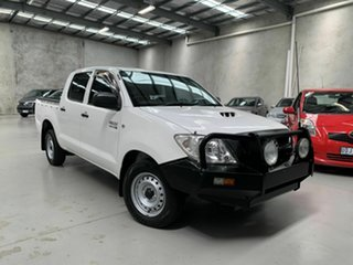 2011 Toyota Hilux KUN16R MY10 SR 4x2 White 5 Speed Manual Utility.