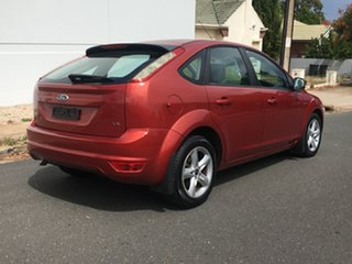 2009 Ford Focus LT LX Red 4 Speed Sports Automatic Hatchback.