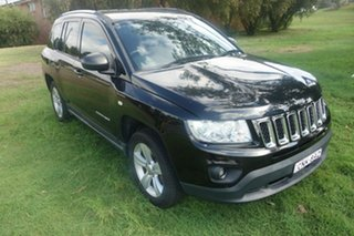 2012 Jeep Compass MK MY12 Sport CVT Auto Stick Black 6 Speed Constant Variable Wagon.