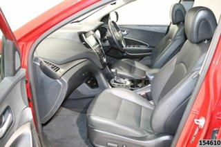 2016 Hyundai Santa Fe DM Series II (DM3)MY17 Highlander CRDi (4x4) Red 6 Speed Automatic Wagon