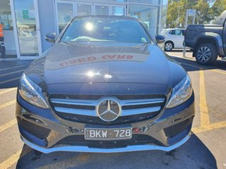 2014 Mercedes-Benz C-Class W205 C250 7G-Tronic + Black 7 Speed Sports Automatic Sedan.