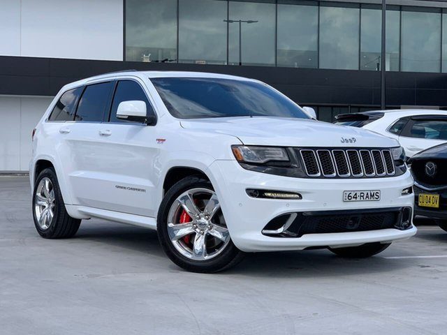Used Jeep Grand Cherokee WK MY15 SRT Liverpool, 2014 Jeep Grand Cherokee WK MY15 SRT White 8 Speed Sports Automatic Wagon