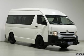 2015 Toyota HiAce KDH223R MY14 Commuter White 5 Speed Manual Bus.