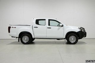 2016 Isuzu D-MAX TF MY15 SX (4x4) White 5 Speed Automatic Crew Cab Utility