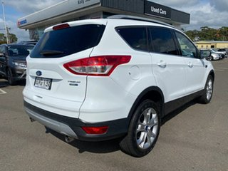 2013 Ford Kuga TE Trend AWD White 5 Speed Sports Automatic Wagon.