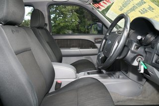 2009 Ford Ranger PJ XL Crew Cab 4x2 Hi-Rider Cool White 5 Speed Automatic Utility