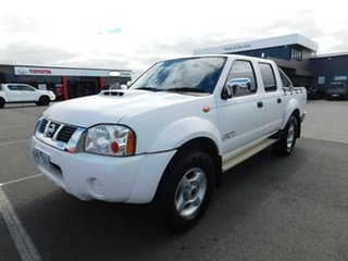 2010 Nissan Navara D22 MY2010 ST-R White 5 Speed Manual Utility
