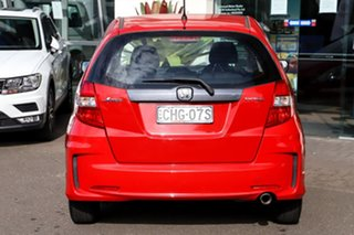 2012 Honda Jazz GE MY12 VTi Red 5 Speed Automatic Hatchback