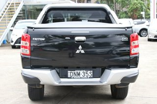 2017 Mitsubishi Triton MQ MY17 GLS (4x4) Black 6 Speed Manual Dual Cab Utility