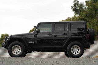 2014 Jeep Wrangler JK MY2014 Unlimited Overland Black 5 Speed Automatic Hardtop