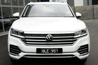 2020 Volkswagen Touareg CR MY21 170TDI Tiptronic 4MOTION White 8 Speed Sports Automatic Wagon