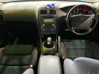 2005 Ford Falcon BF XR6 Turbo Blue 6 Speed Manual Sedan