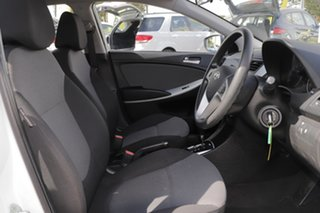 2014 Hyundai Accent RB2 Active White 4 Speed Sports Automatic Hatchback