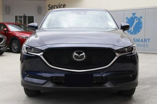 2021 Mazda CX-5 KF2W7A Maxx SKYACTIV-Drive FWD Sport Eternal Blue 6 Speed Sports Automatic Wagon