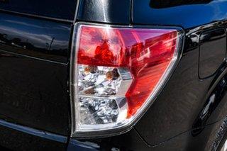 2010 Subaru Forester S3 MY10 XS AWD Black 4 Speed Sports Automatic Wagon