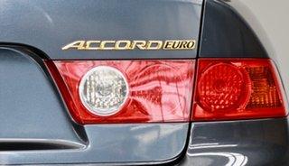 2005 Honda Accord Euro CL Luxury Grey 5 Speed Automatic Sedan