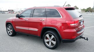 2012 Jeep Grand Cherokee WK MY2012 Limited Cherry Red 5 Speed Sports Automatic Wagon